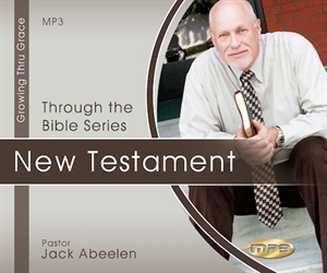 Picture of Through the Bible - New Testament on MP3