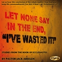 "Picture of Let None Say In The End, ""I've Wasted It"""