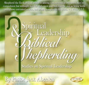 Picture of Biblical Shepherding MP3 (2 Volume Set)